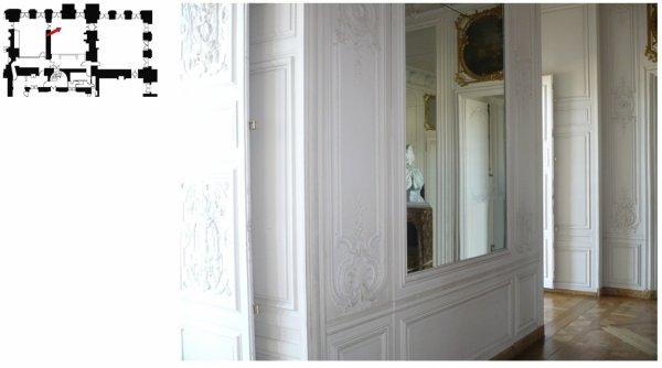 Rez de chaussée - Aile centrale - Appartement de madame Victoire - 71 Seconde antichambre
