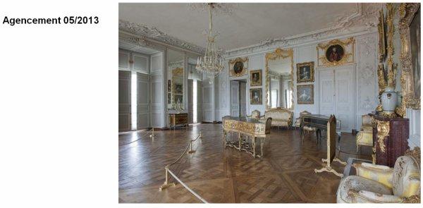 Rez de chaussée - Aile centrale - Appartement de madame Victoire - 72 Grand cabinet