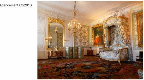 Rez de chaussée - Aile centrale - Appartement de madame Victoire - 73 Chambre à coucher.