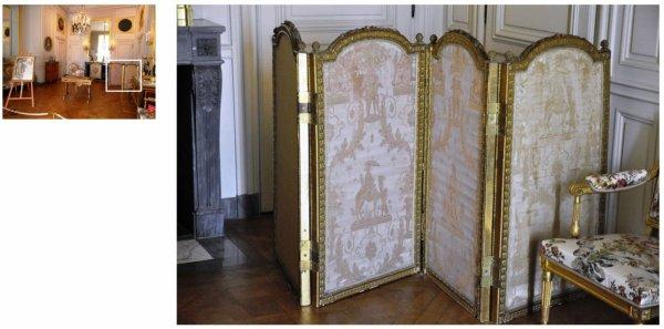 Rez de chaussée - Aile centrale - Appartement de madame Adélaïde - 76 Cabinet intérieur