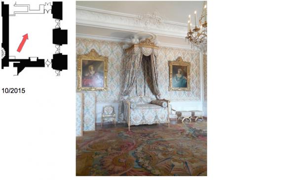 Rez de chaussée - Aile centrale - Appartement de madame Adélaïde - 77 Chambre
