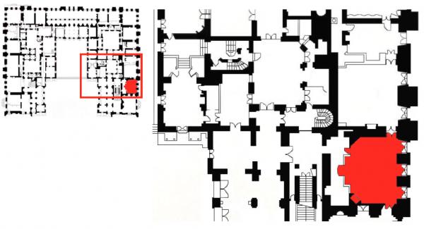 Rez de chaussée - Aile centrale - Appartement de madame Adélaïde - 78 Grand cabinet