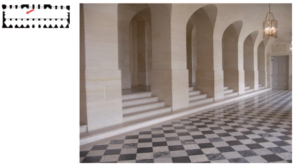 Rez de chaussée - Aile centrale - Divers  - 69 a  Galerie basse.