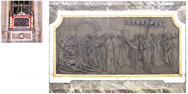 Rez de chaussée - Aile nord - 98 Chapelle royale - Autel Saint Charles Borromée