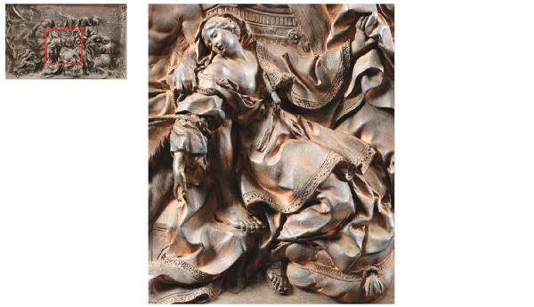 Rez de chaussée - Aile nord - 98 Chapelle royale - Autel Sainte Victoire