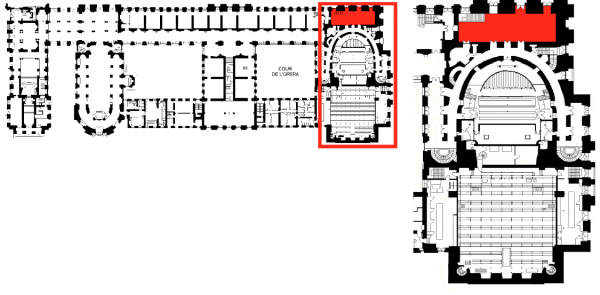 Rez de jardin - Aile nord - 100A Foyer haut de l'opéra