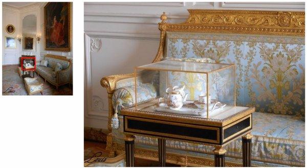 Rez de chaussée - Aile centrale - Appartement de madame Adélaïde - 78 Grand cabinet - Corniche