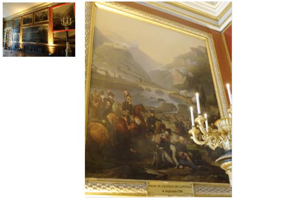 Rez de Jardin - Aile midi - 94 Salle des campagnes de 1796-1797