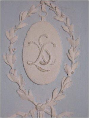Rez de jardin - Aile centrale - Appartement de la duchesse d'Angoulème - 60d Ancien Cabinet de la Méridienne de la comtesse de Provence, salle de bains de la duchesse d'Angoulême