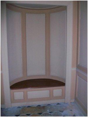 Rez de jardin - Aile centrale - Appartement de la duchesse d'Angoulème - 61a La chaise