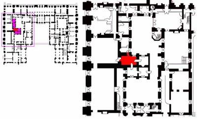Rez de jardin - Aile centrale - Appartement de la duchesse d'Angoulème - 61b ?
