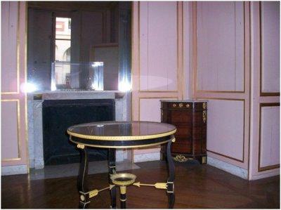 Rez de jardin - Aile centrale - Appartement de la duchesse d'Angoulème - 62 Salle à manger