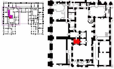 Rez de jardin - Aile centrale - Appartement de la duchesse d'Angoulème - 62a