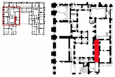 Rez de chaussée - Aile centrale - Divers- 91 c. Boutique cour de mabre