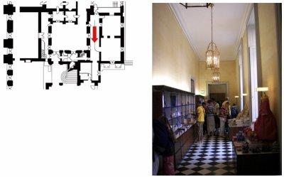 Rez de chaussée - Aile centrale - Divers- 91 c.Boutique cour de mabre