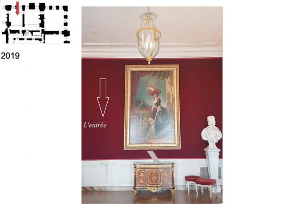 Rez de chaussée - Aile centrale - Appartement de madame Victoire - 70 Première antichambre