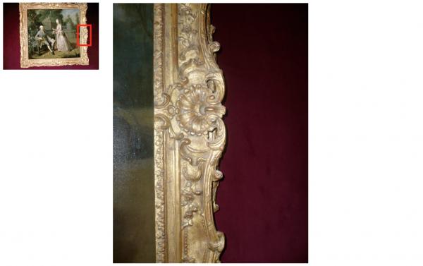 Rez de chaussée - Aile centrale - Appartement de madame Victoire - 70 Première antichambre.