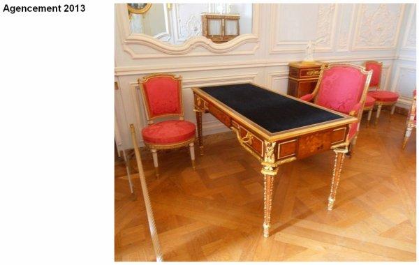 Rez de chaussée - Aile centrale - Appartement de madame Victoire - 74 cabinet intérieur..