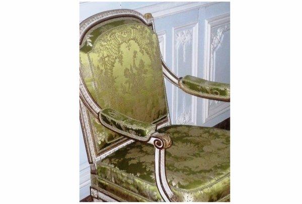 Rez de chaussée - Aile centrale - Appartement de madame Victoire - 74 cabinet intérieur.