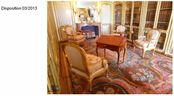 Rez de chaussée - Aile centrale - Appartement de madame Victoire - 75 Bibliothèque