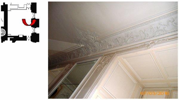 Rez de chaussée - Aile centrale - Appartement de madame Adélaïde - 77 Chambre.