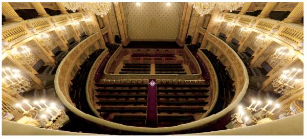 Rez de chaussée - Aile nord - 100 Salle de spectacles - Parterre