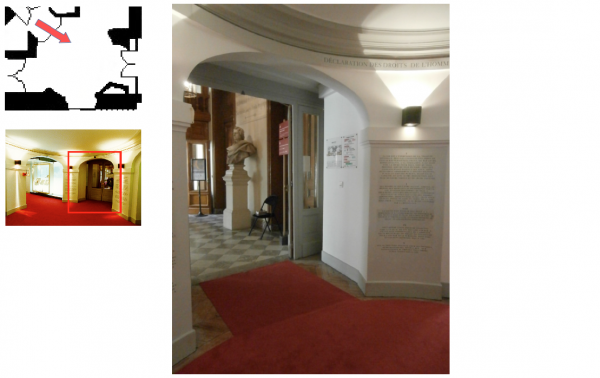 Rez de chaussée - Aile midi - 191 Rotonde des droits de l'homme.