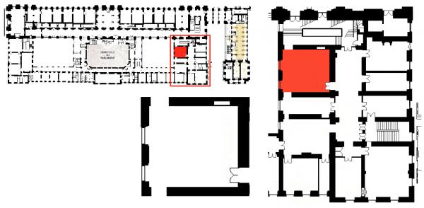 Rez de chaussée - Aile midi - 197 Salle de restauration publique