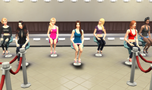 Top Model USA Sims - Episode 1 - Partie 5