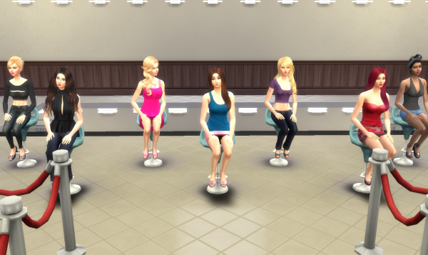 Top Model USA Sims - Episode 1 - Partie 6