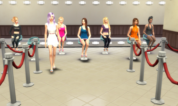 Top Model USA Sims - Episode 1 - Partie 7