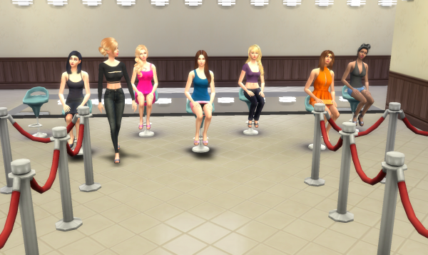 Top Model USA Sims - Episode 1 - Partie 8