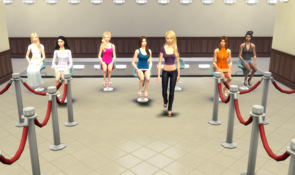 Top Model USA Sims - Episode 1 - Partie 9