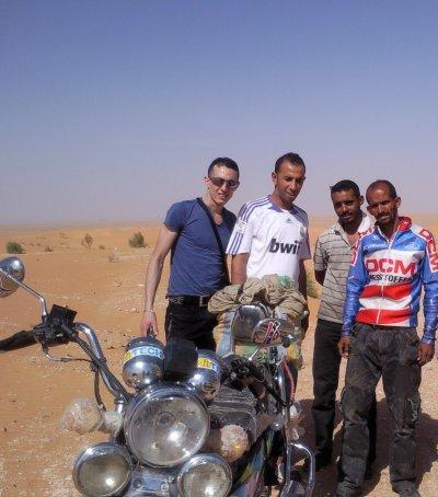 le desert algerien
