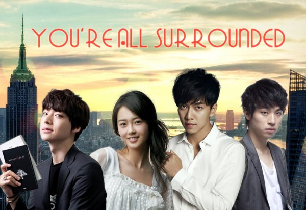 you're surrounded