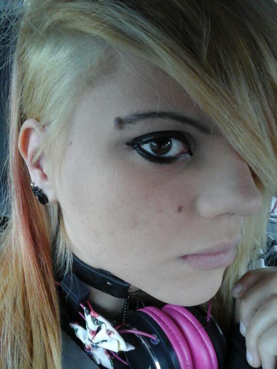 Voila mes cheveux >_