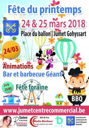 La fête de Jumet se déroule du samedi 17 mars 2018 au dimanche 25 mars 2018. bizart as rien sur cette place