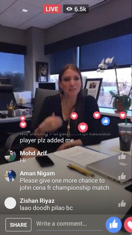 stephanie en direct live facebook et s'entraine avec son chien