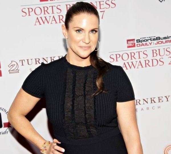 Stephanie McMahon Attends the 10th Annual Sports Business Awards at The New York Marriott Marquis on May 24, 2017 in New York City.
