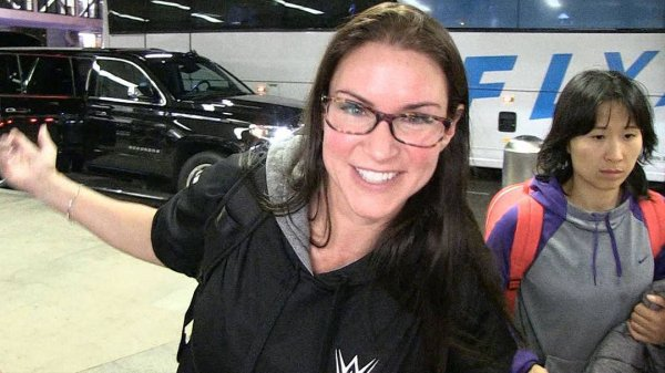 WWE's Stephanie McMahon - WWE talks Ronda Rousey and the man