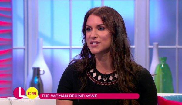 @WWE @StephMcMahon sur @ITVLorraine