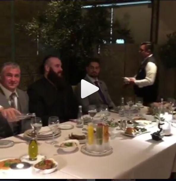 dinner de the Greatest Royal Rumble