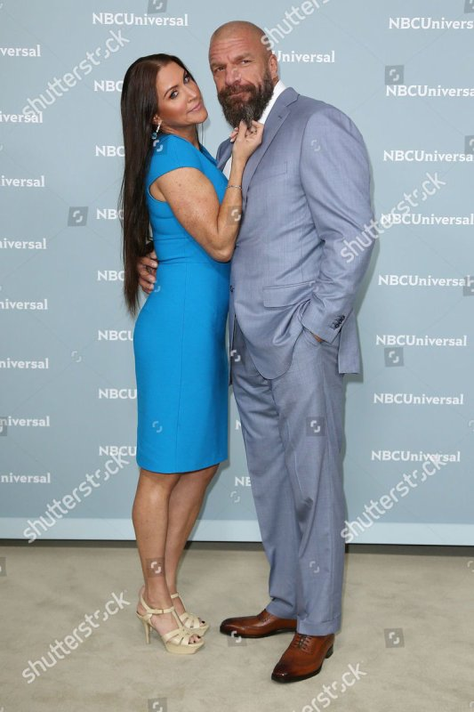 Steph and Paul at the NBC Upfront Presentation