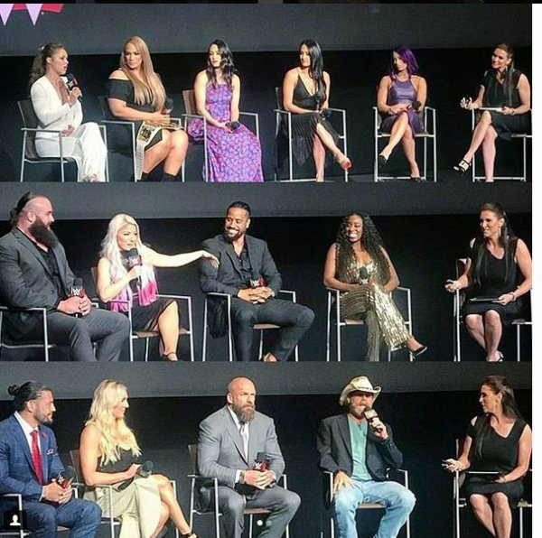 WWE's First-Ever Emmy 'For Your Consideration' Event 2018 (6 juin)