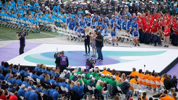 2018USAGames Opening Ceremonies