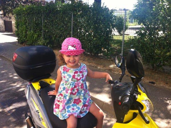 voila une photo récente de ma petite fille et divers photo récente