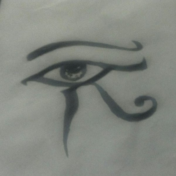 My Egyptian all seeing eye drawing