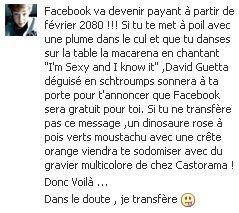 Encore Facebook :p