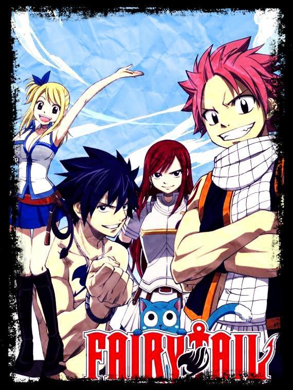 Bienvenu a Fairy Tail mon manga préféré !