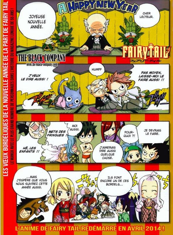 L'anime Fairy Tail pour 2014 !